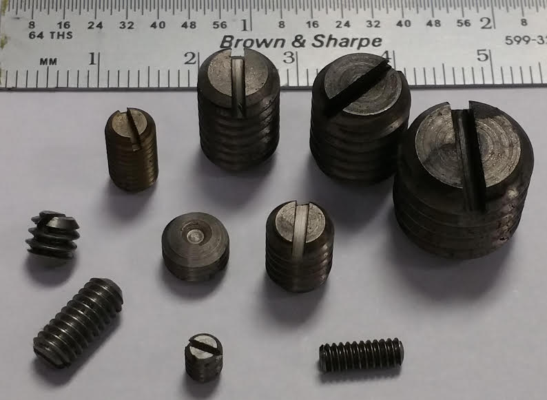 case hard set screw